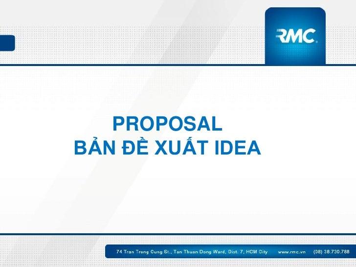 Những quan điểm sai lầm về Proposal Slide 2