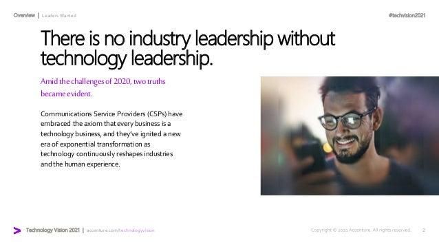 Communications Technology Vision 2021 Slide 2