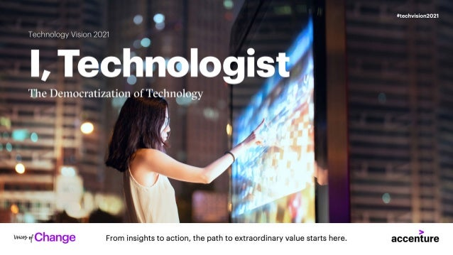 Technology Trends 2021 | Tech Vision | I Technologist
