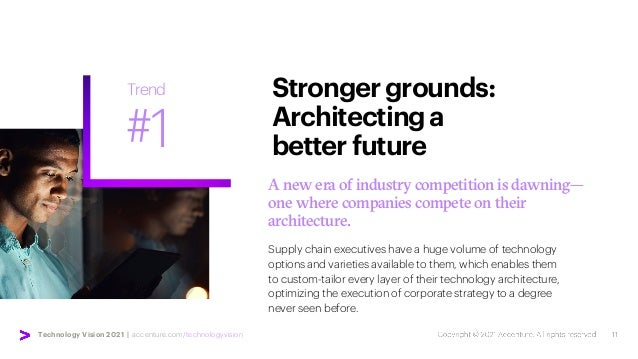 Technology Vision 2021 | accenture.com/technologyvision A new era of industry competition is dawning— one where companies ...