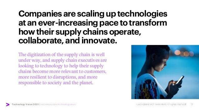 Technology Vision 2021 | accenture.com/technologyvision Companiesarescalinguptechnologies atanever-increasingpacetotransfo...