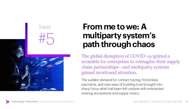 Technology Vision 2021 | accenture.com/technologyvision The global disruption of COVID-19 ignited a scramble for enterpris...