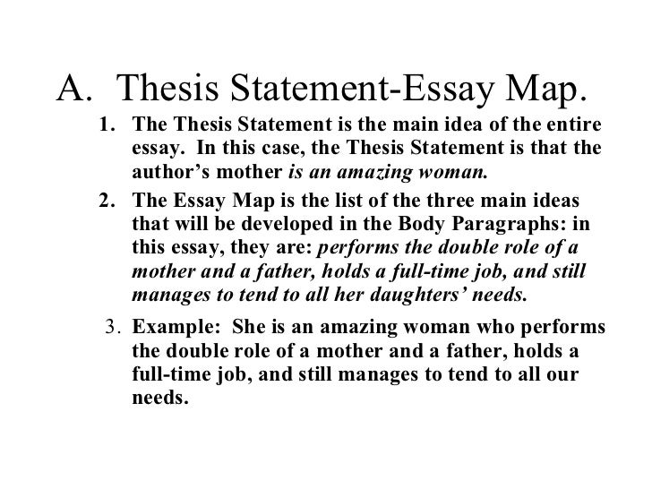 what is a thesis for an essay
