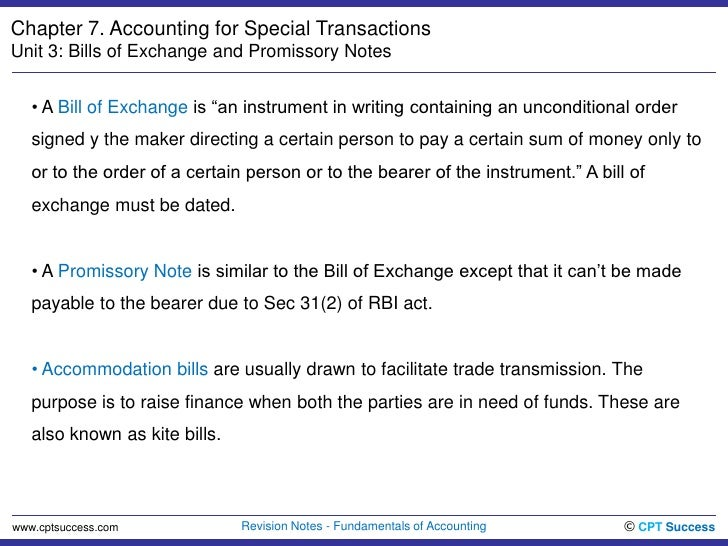 Acc0703 bills of exchange promissory notes bills of exchange and promissory notesbr 2 altavistaventures Choice Image