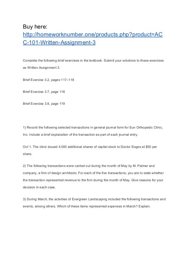 macroeconomics written assignment 3 Homework help - post homework questions, assignments & papers get  answers from  very nice, specific work well-written with passion and clear  intent a.