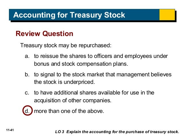 Accounting For Stock Issued To Employees