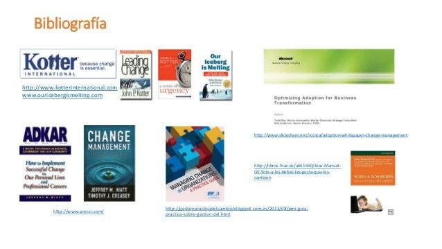 Recursos  www.gestiondelcambioyproyectos.com