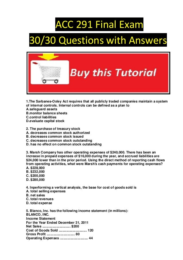 acc 423 final exams Click to get answers acc 423 final exam question 1: buttercup corporation issued 250 shares of $11 par value common stock for $4,125 prepare buttercup.
