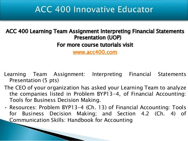 chapter 13 interpreting financial statements byp13 4 Solution manual of financial accounting 9th edition by jerry j  financial  accounting 9th edition solution manual (weygandt /kimmel/kieso), chapter - 13 -  statement of cash flows  it is the fourth basic financial statement 2  9/e,  solutions manual (for instructor use only) byp 13-5 real-world.