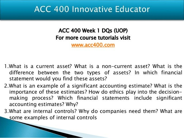 acc400 week 3 individual assignment Week 3 textbook assignment e 201 listed below are nine technical accounting terms introduced in this chapter: variable costs relevant range contribution mar.