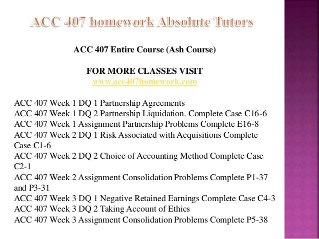 407 homework 1 Acc 407 week 1 dq 1 partnership agreements complete case c15-1docx description reviews (1) partnership agreementscomplete case c15-1 in responding to the discussion question, be sure to address all the questions for the case consider using additional resources outside the textbook in addressing the case – these resources should be cited.
