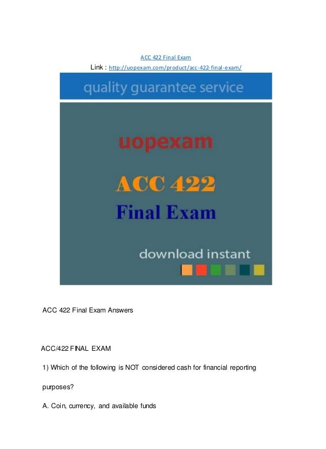 Accounting 2 Final Exam (special)