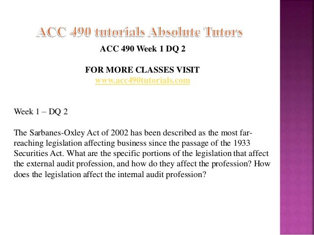 acc 490 Acc 490 week 1 dqs what is the difference between assurance services, attestation services, and auditing services answers acc 490 week 1 dqs what is the difference between assurance.