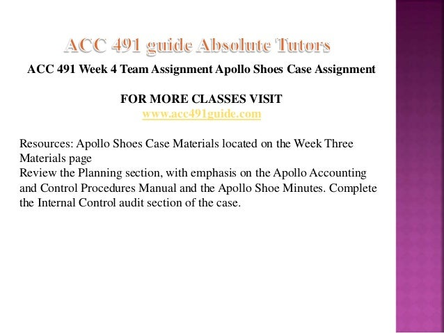 acc 491 week four individucal text Acc 491 week 4 individual assignments from the text acc 491 week 4 internal control  hca 415 week 2 dq 1 essay this file of hca 415 week 2 discussion .