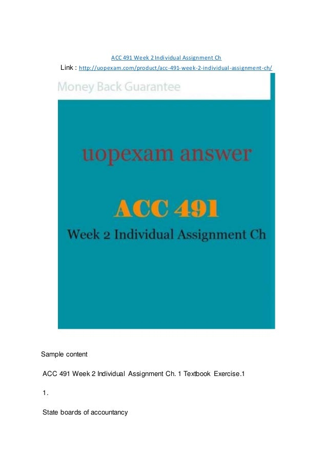 acc 492 week 2 individual assignment Acc492 full course all weeks learning , individual assignment and learning , individual assignment assignment acc 492 week 2 individual.