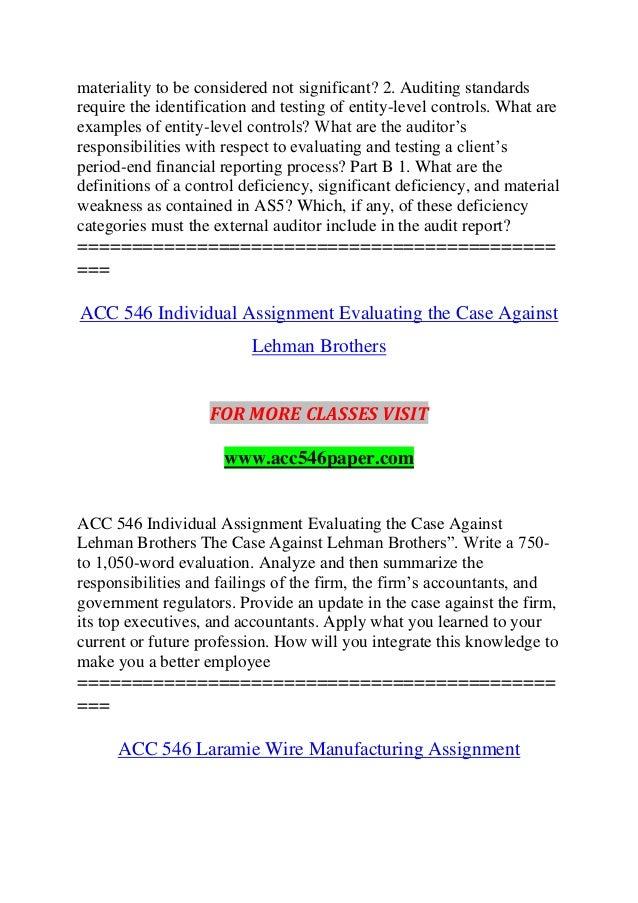 ACC 546 Course Future Starts acc54com