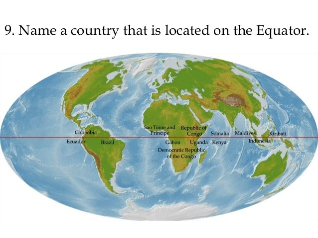 Acca geography bee practice test 1 name a country that is located on the equator gumiabroncs Gallery
