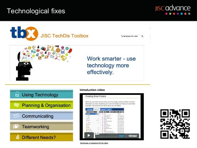 Technological fixes