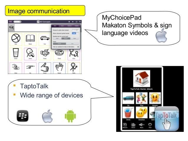Image communication                           MyChoicePad                           Makaton Symbols & sign                ...
