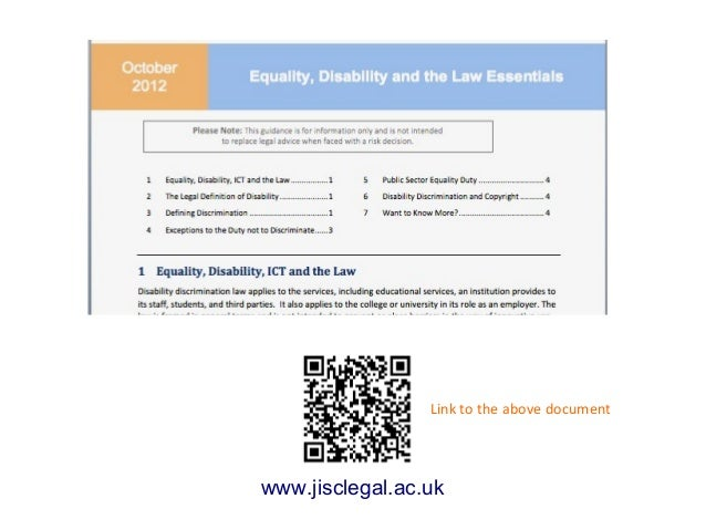 Link to the above documentwww.jisclegal.ac.uk