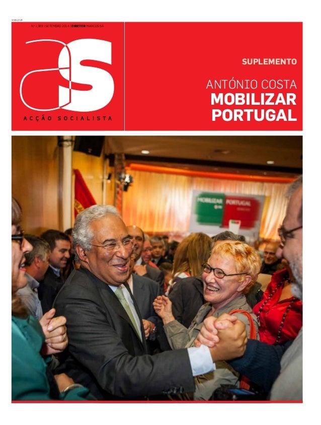 www.ps.pt  N.o 1389 | SETEMBRO 2014 | diretor marcos sá  SUPLEMENTO  António costa  mobilizar  Portugal