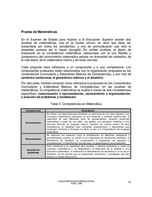 Tabla 6. Componentes en Matemática  Componentes  Descripción  Numérico- variacional  Alude al significado del número y sus...