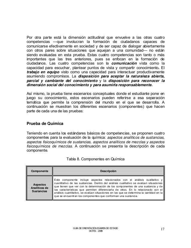 Aspectos Fisicoquímicos de Sustancias  En este componente se analiza la composición, estructura y características de las s...