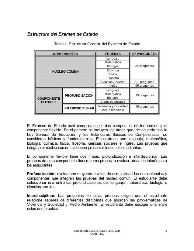Tipos de preguntas que se utilizan en el Examen de Estado  En el Examen de Estado se utilizan dos tipos de preguntas, las ...