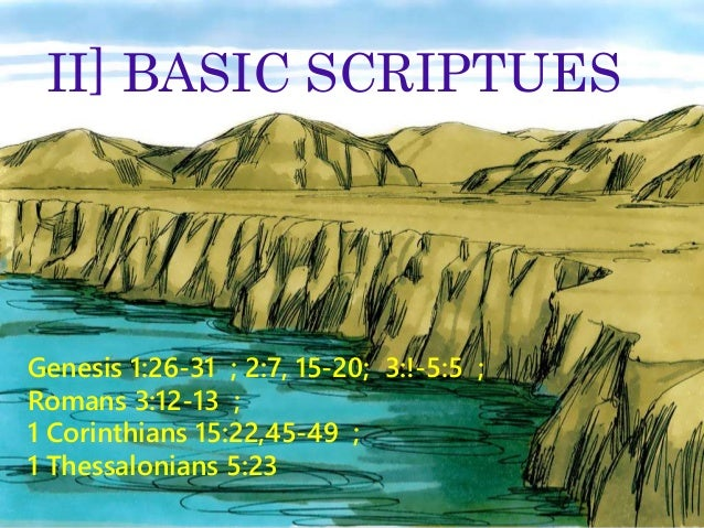 SERMON SERIES CHARACTERS OF THE BIBLE LESSON 1 ADAM