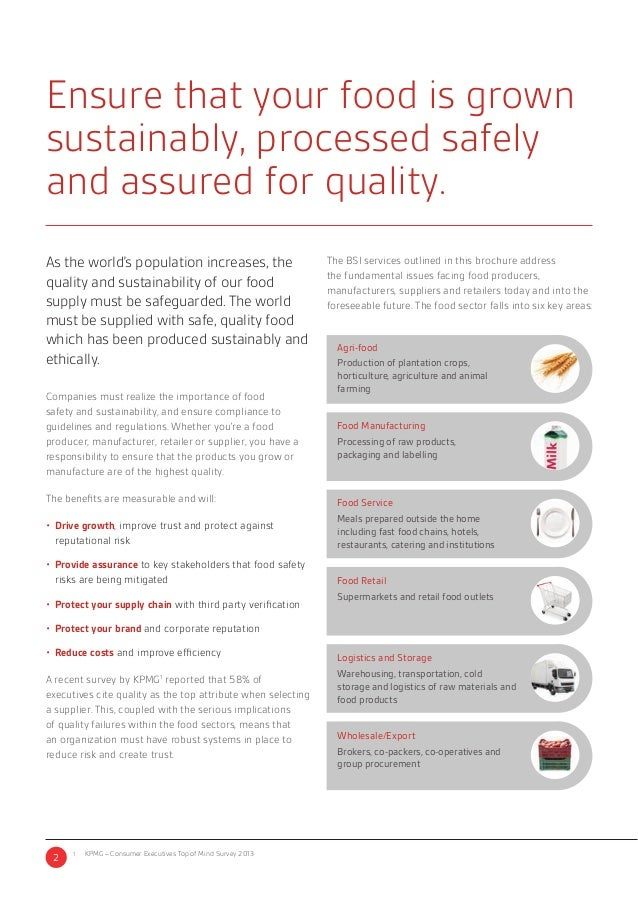 Bsi Food Safety
