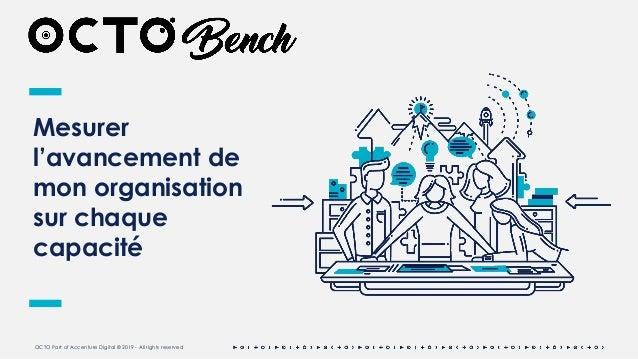 OCTO Part of Accenture Digital © 2019 - All rights reserved Mesurer l'avancement de mon organisation sur chaque capacité