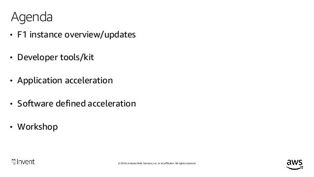 Accelerate Your C/C++ Applications with Amazon EC2 F1