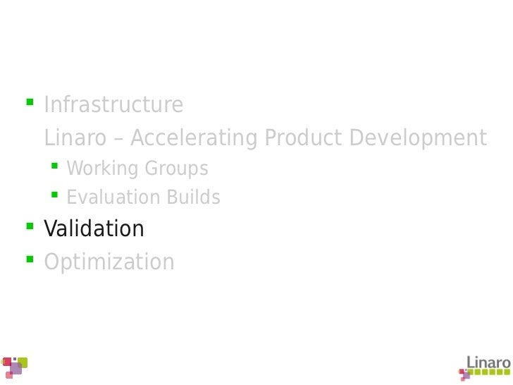 Accelerated Android Development with Linaro