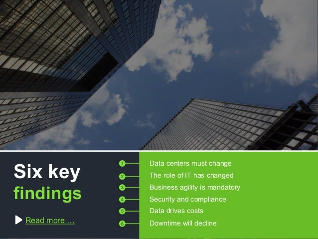Copyright © 2015 Dimension Data Read more … Data centers must change The role of IT has changed Business agility is mandat...