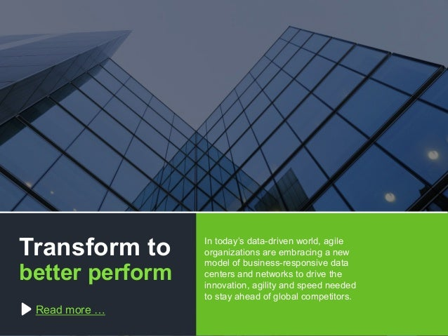 Copyright © 2015 Dimension Data The software-defined data centre: making the inevitable achievable Transform to better per...