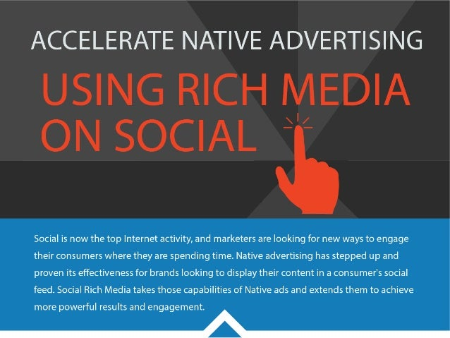 Accelerate Native Advertising Using Rich Media On Social