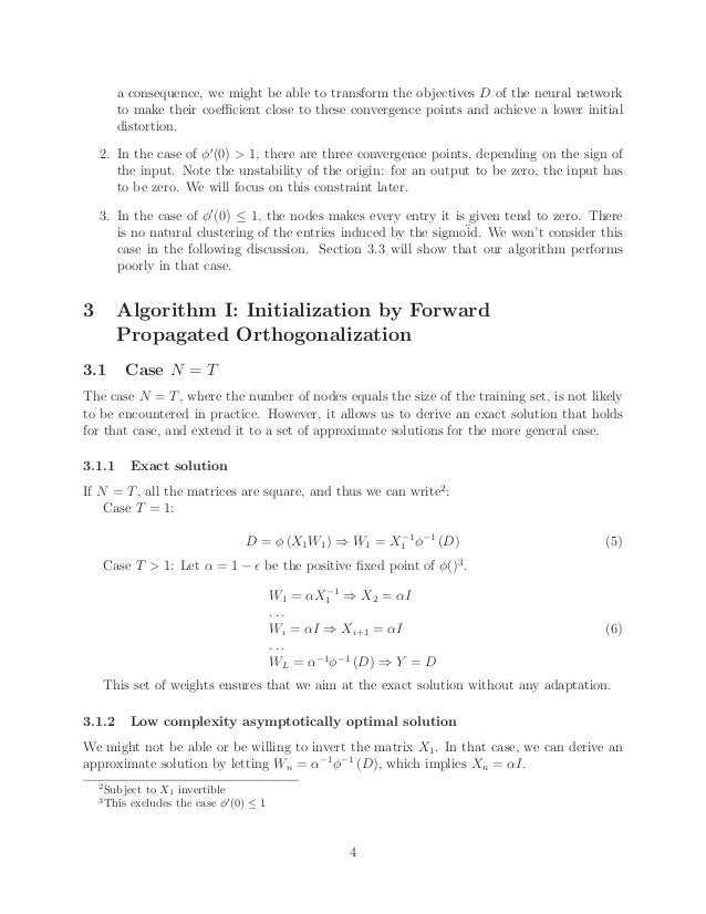 Two algorithms to accelerate training of back-propagation