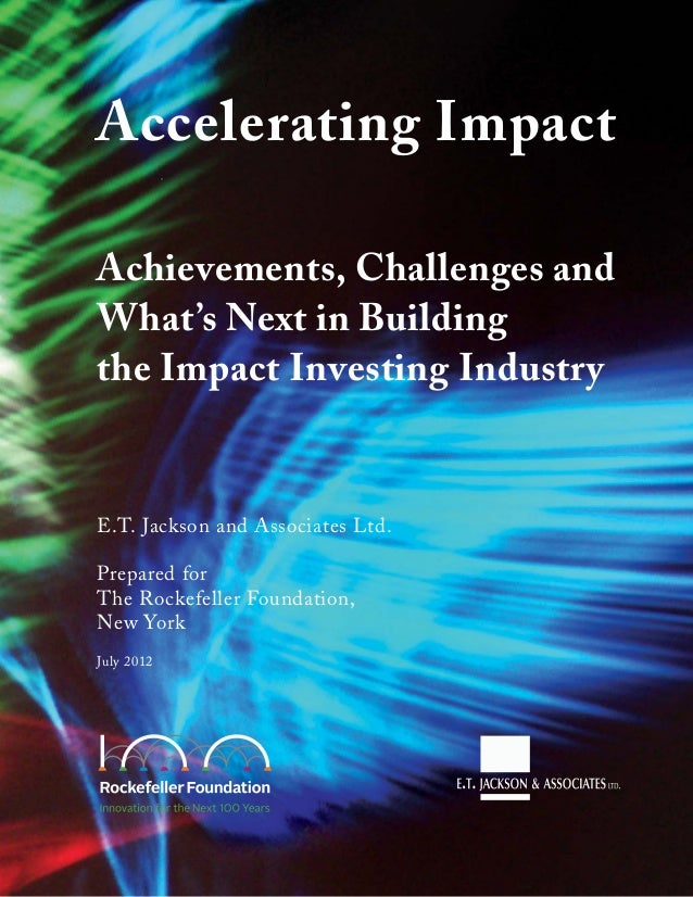Accelerating Impact: Achievements, Challenges and What's