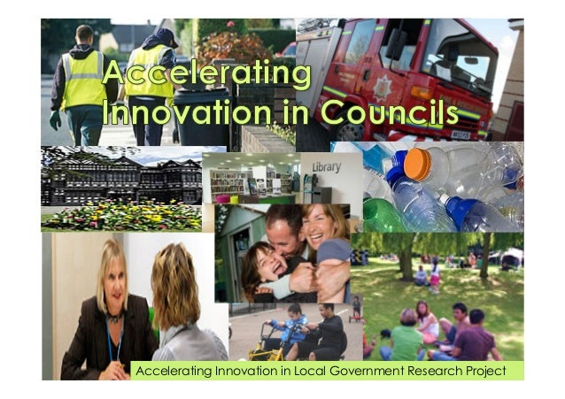 Accelerating Innovation in Local Government Research Project