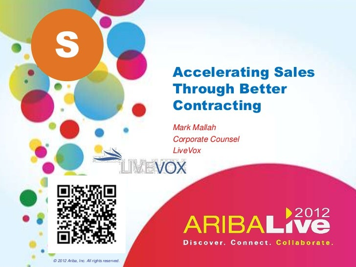 S                                          Accelerating Sales                                          Through Better     ...