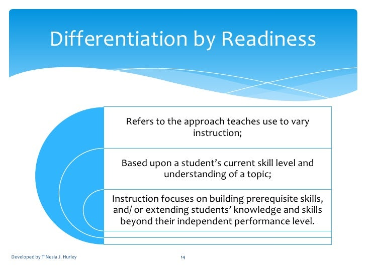 effects of differentiated instruction on academic achievement