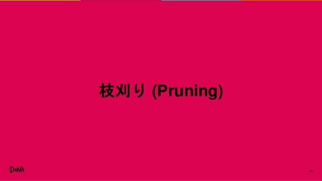 14 枝刈り (Pruning)