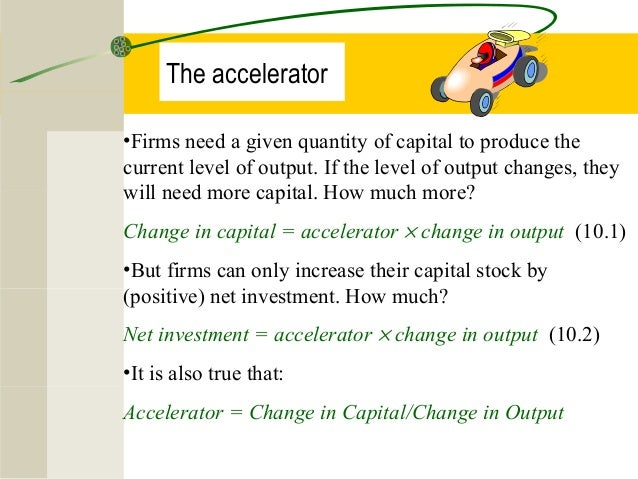 "multiplier and accelerator theory The multiplier emerged from arguments in the 1920s and 1930s over how governments should respond to economic  ""the general theory of employment,."