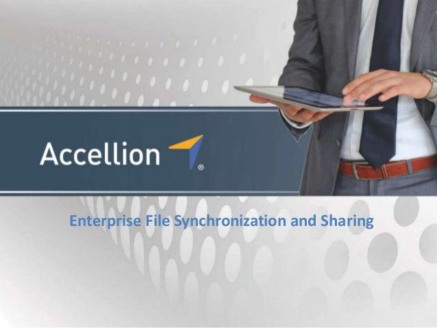 Enterprise File Synchronization and Sharing