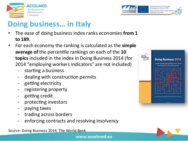 doing business in italy Encuentra doing business with italy de tony deegan (isbn: 9781846730245) en amazon envíos gratis a partir de 19.