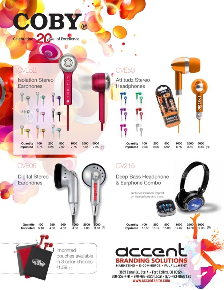 Accent Ear Buds