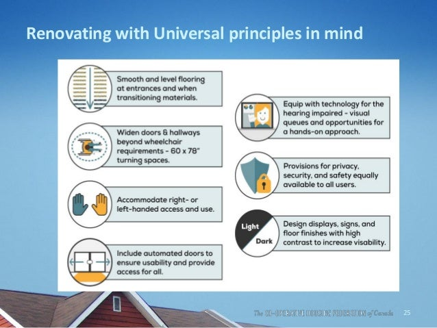 Renovating with Universal principles in mind 25
