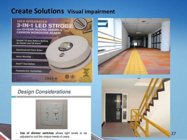 Create Solutions Visual impairment 27