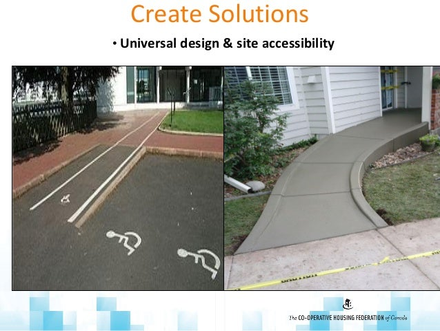 Create Solutions • Universal design & site accessibility