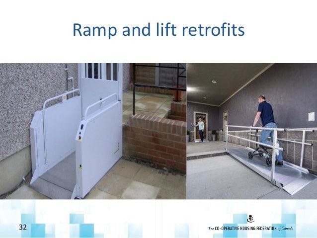 Ramp and lift retrofits 32